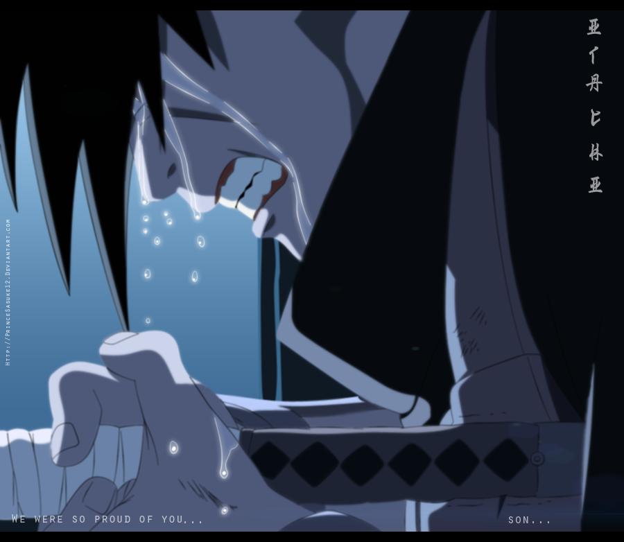 Naruto : 590 The Sadness Of Sorrow by Akira-12 on DeviantArt Naruto And Sasuke Sad