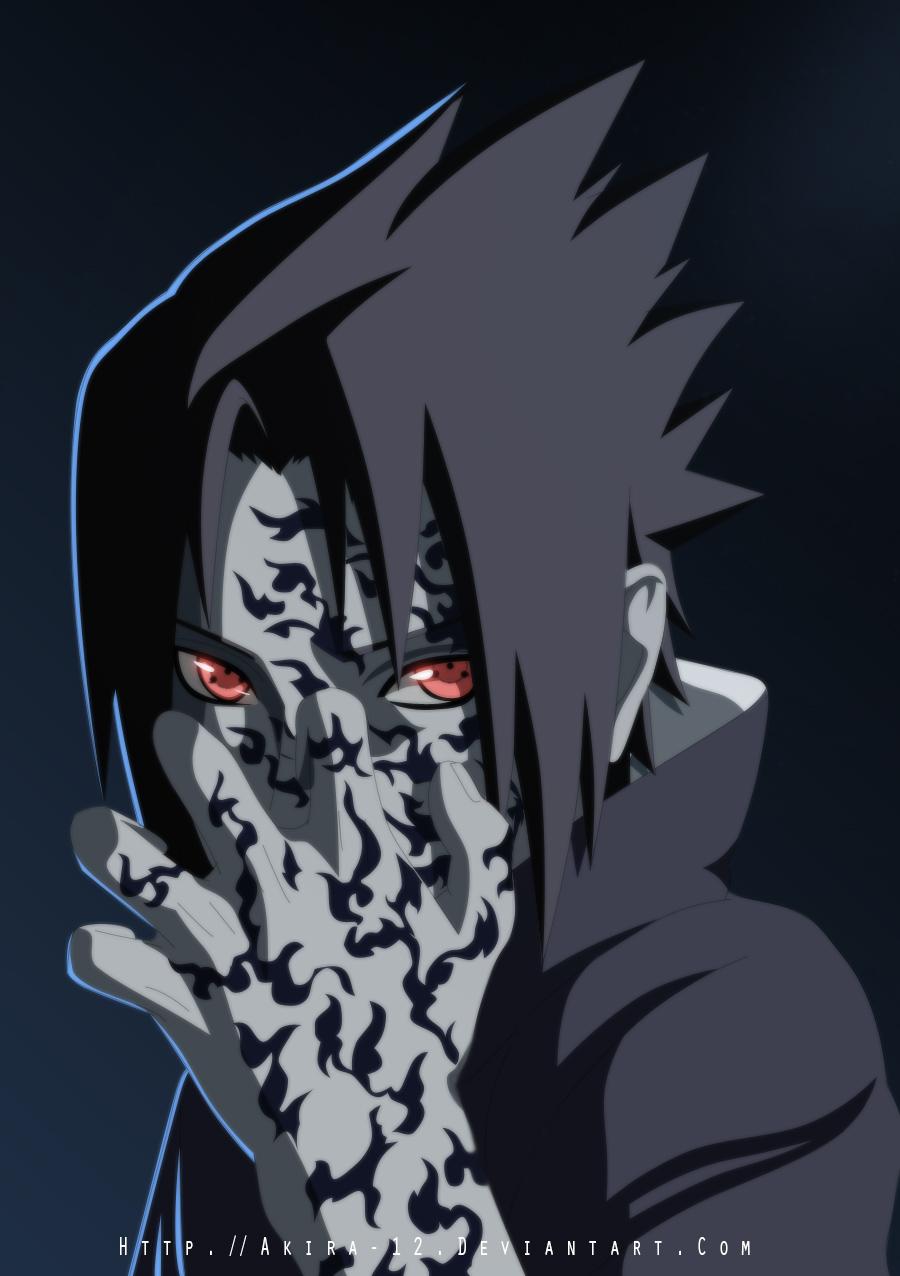 Sasuke Curse Mark by Akira-12 on DeviantArt