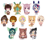 [BATCH 2] Painted Base Cheebs OPEN