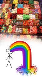 Rainbow Candies! by MrNikosN