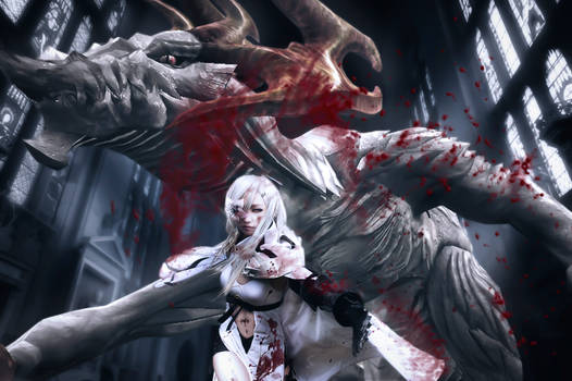 Drakengard 3 Zero Cosplay