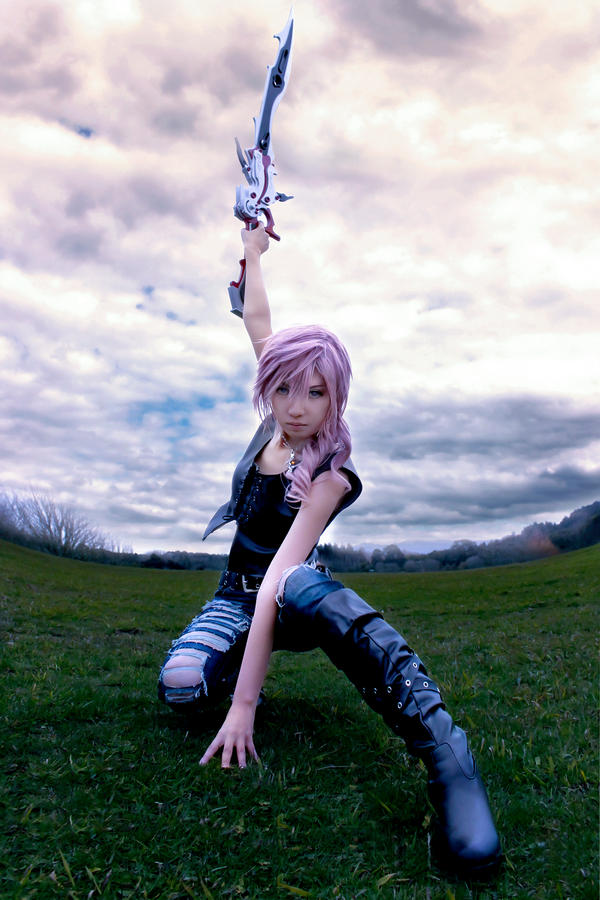 Dissidia 012 Lightning Cosplay Aya Brea Alter by Fantalusy