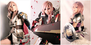 Final Fantasy XIII Trilogy Lightning Cosplay