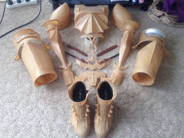 Lightning Knight of Etro Cosplay WIP