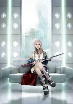 Final Fantasy XIII Lightning Farron Cosplay