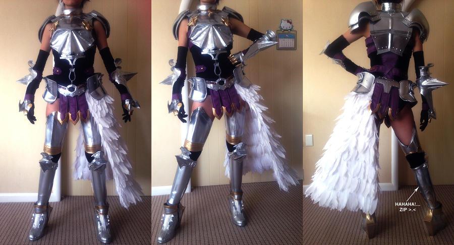 Final Fantasy XIII 2 Knight Of Etro Armor By Fantalusy On