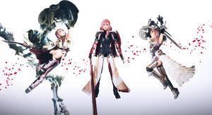 Final Fantasy XIII Trilogy Lightning Cosplay by Fantalusy