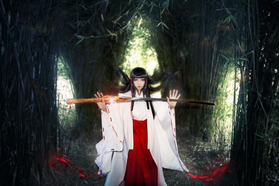 X-1999 Priestess Kishu Arashi Cosplay