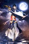 Touken Ranbu Mikazuki Munechika Cosplay by Fantalusy