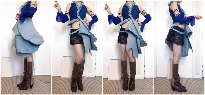 Final Fantasy X-2 Songstress Yuna Costume