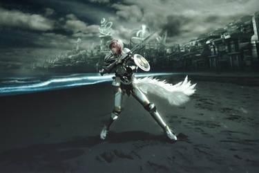 Final Fantasy XIII-2 Lightning Farron Cosplay