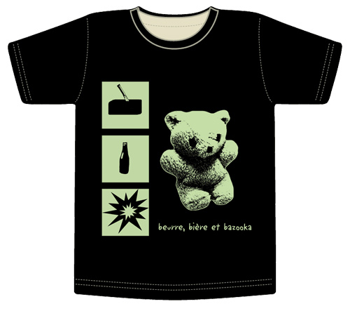 le tee-shirt ourse verte