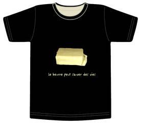 Tee-shirt beurre
