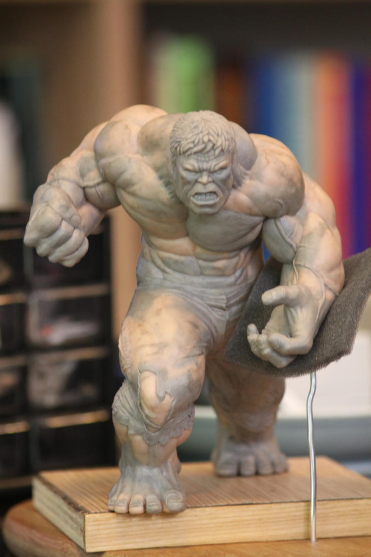 Hulk project 2 front view by MataSak01