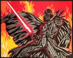 Darth Vader Duct Tape Art