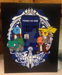 Pokemon Doctors Duct Tape Art