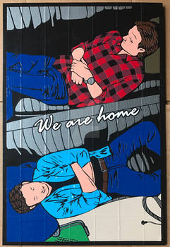 SPN Baby Duct Tape Art