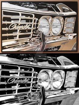 Impala Duct Tape Art