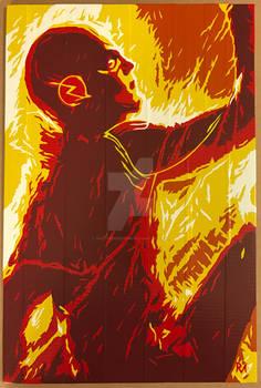 CW Flash Duct Tape Art