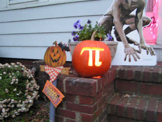 pi pumpkin by crazedhobbit