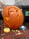 Quagsire Halloween Pumpkin