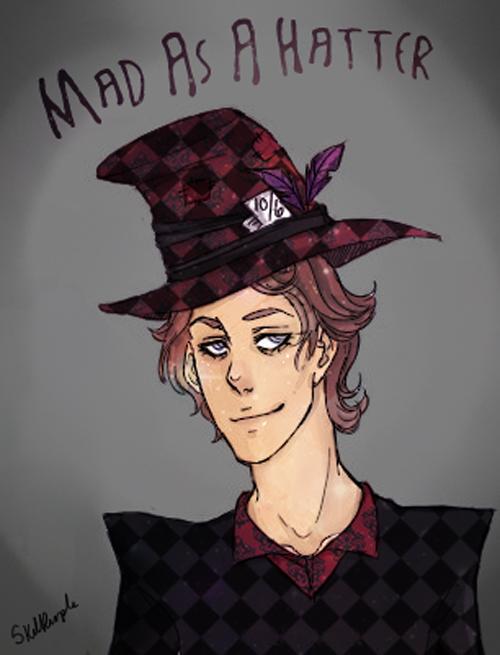 Mad As A Hatter by SkullPurple