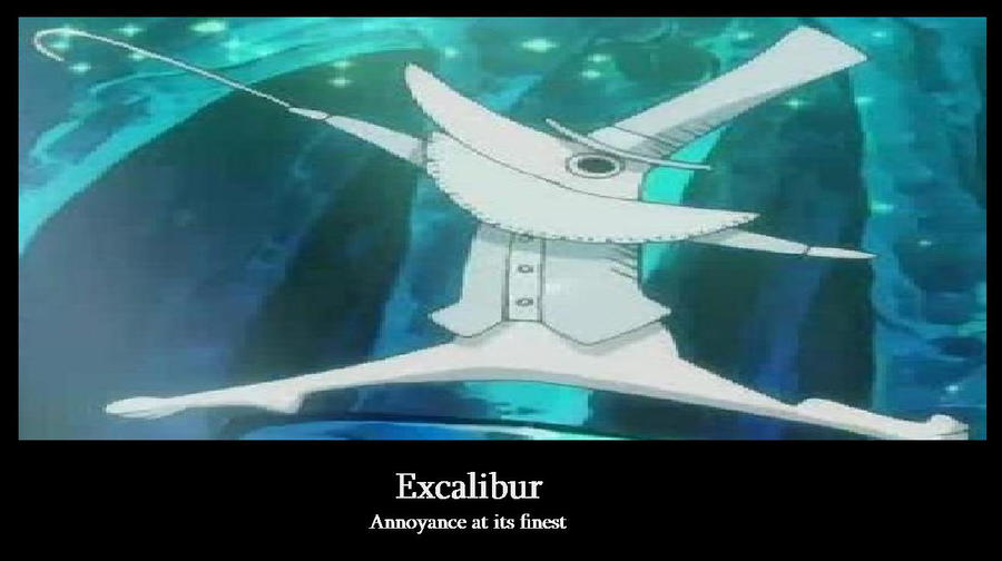 soul eater excalibur by silenttounge77 on deviantart