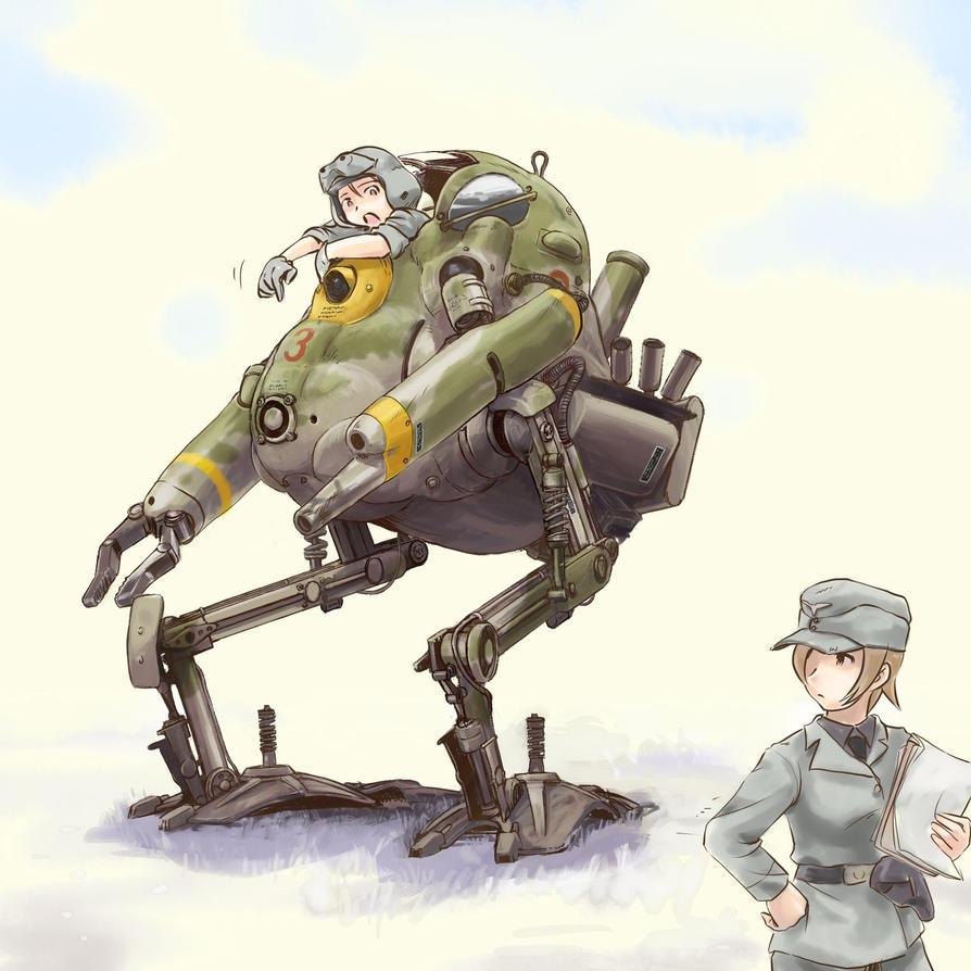 Panzer Kamph Anzug Kaenguru by ugai