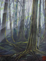 Misty forest 3 by martoo1973