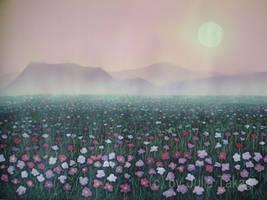 Cosmos fields by martoo1973