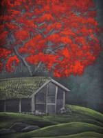 Japanese countryside by martoo1973