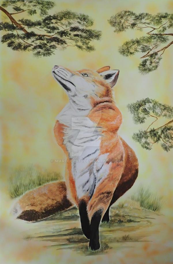 Fox commission by martoo1973