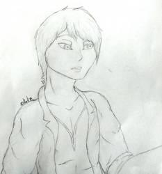 Sketch: Tatsu by AceKattalakis