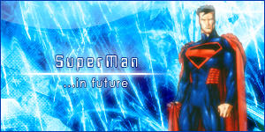 Superman in future by milodesign