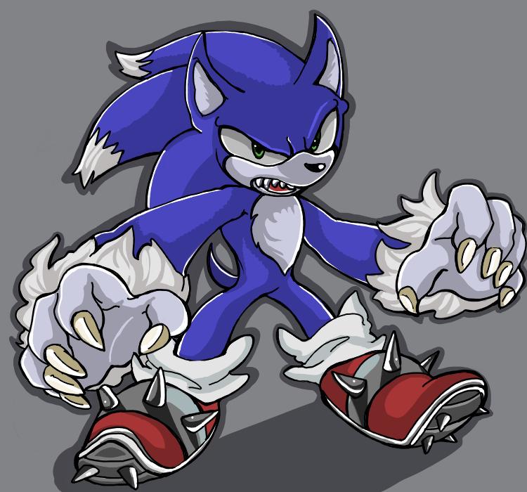 Sonic the Werehog by ka1513-2 on DeviantArt | 750 x 700 png 327kB