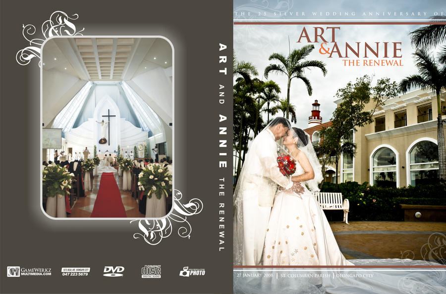 Wedding DVD Cover By Esselor9602