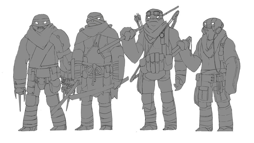 TMNT wip by Octoped
