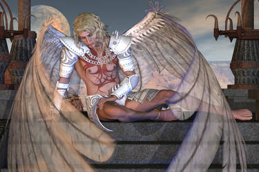Dying Angel by curiousping