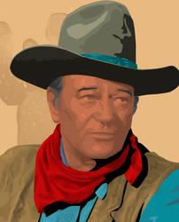John Wayne by AMR-Designs