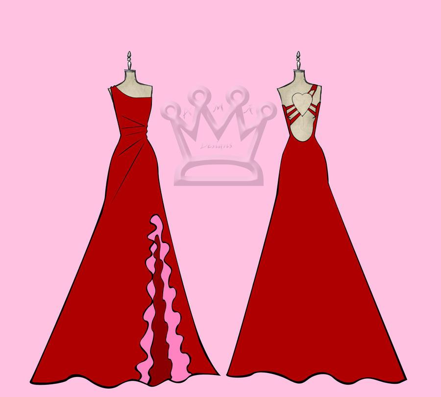 Valentine Gown by AMR-Designs on DeviantArt