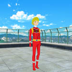 Sentai Oc: Red Speedy Ferrari by Shojokawaii12