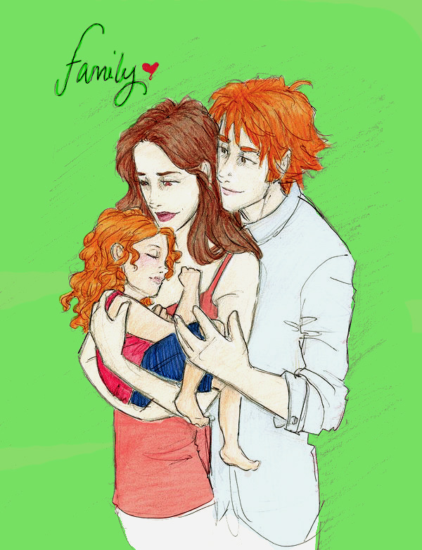 Bella, Edward and Renesmee by twilights-mia on DeviantArt  Bella, Edward a...
