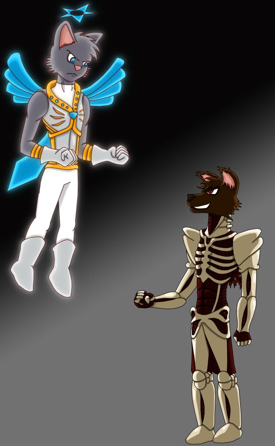 Eternal rivals by TrizRocks