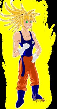 Tomei the super saiyan