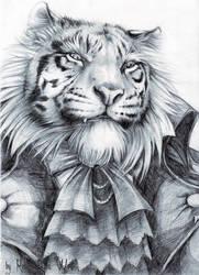 Tiger Barbarian by RavenMadwolf