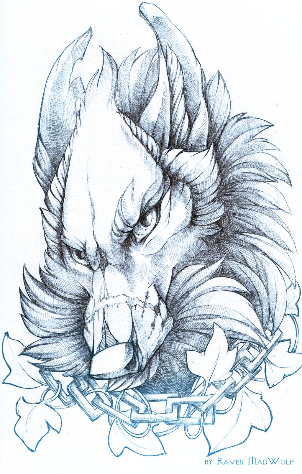 Hendler by RavenMadwolf