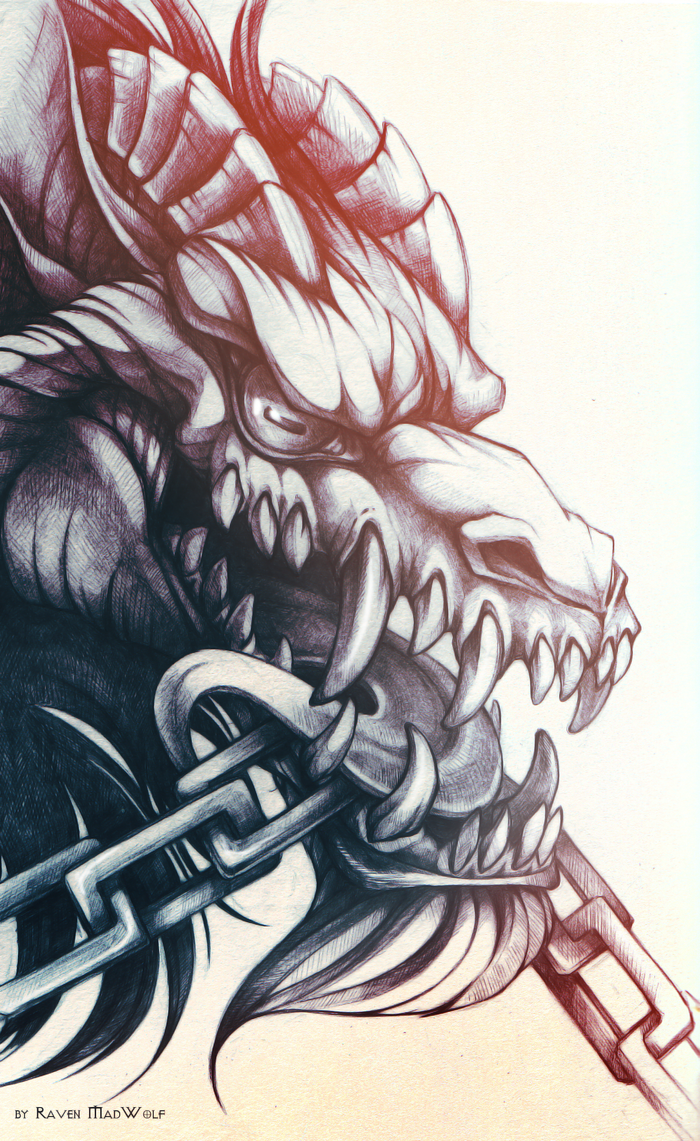 mad wolf drawings - photo #43