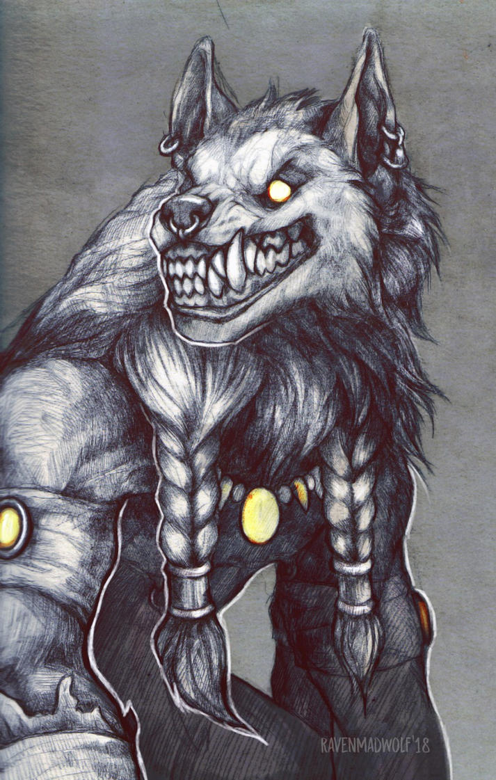 Marrok by RavenMadwolf
