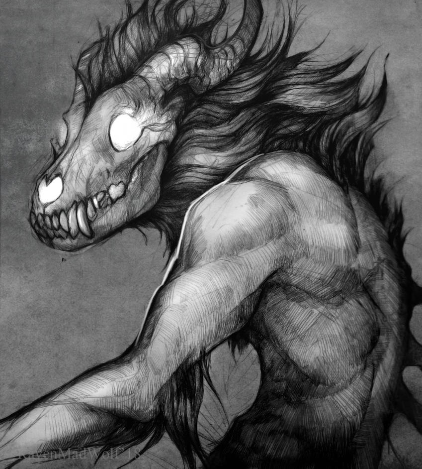 Malacoda by RavenMadwolf