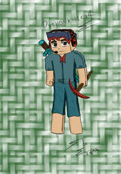 pythonkiller4 Minecraft (colored) by SnakeTeeth12